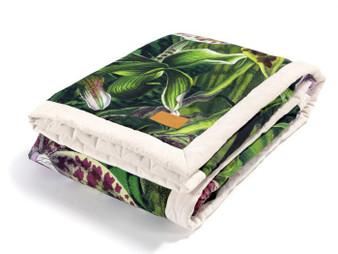 La Millou X-Large Velvet Warm Blanket - La Selva Grande, Rafaello by Marcin Tyszka
