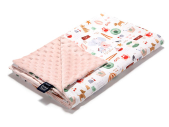 """La Millou Lightweight Blanket French Riviera Girl - Powder Pink, Size 32"""" x 40"""" in."""