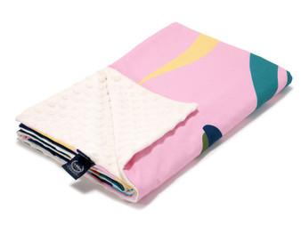 "La Millou Lightweight Blanket Waikiki Girl - Ecru, Size 32"" x 40"" in."