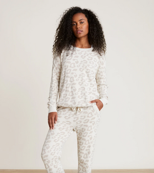 Barefoot Dream CozyChic Ultra Lite Slouchy Barefoot in the Wild  Pullover