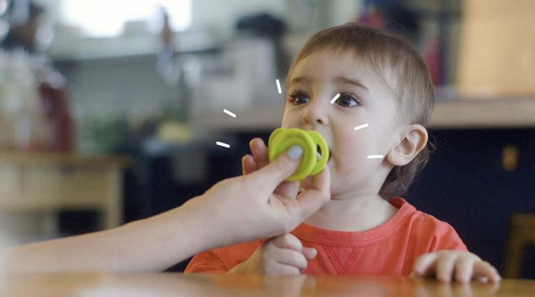 The POP - A Cleaner Pacifier