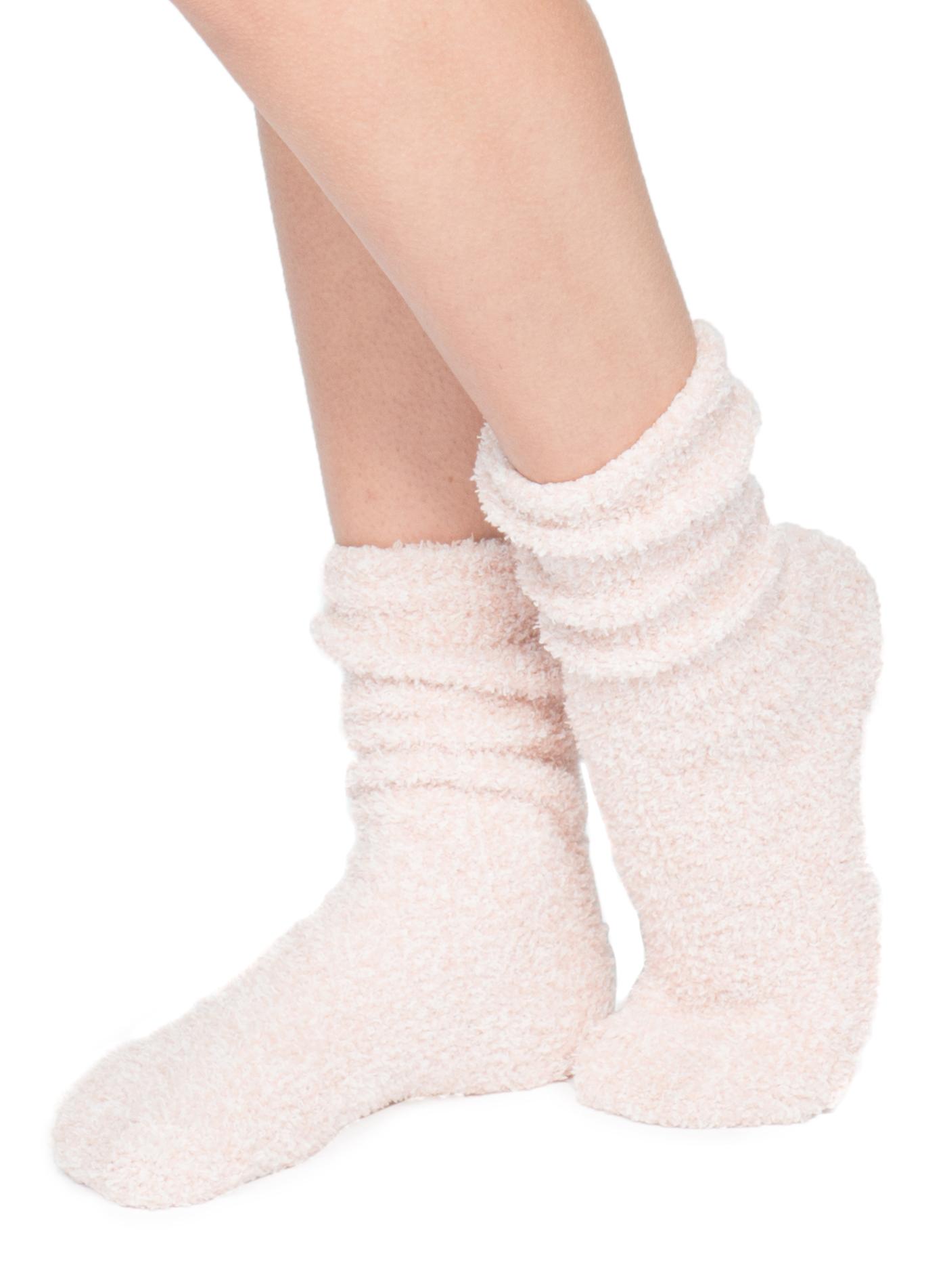 Barefoot Dreams Cozychic Womens Heathered Socks