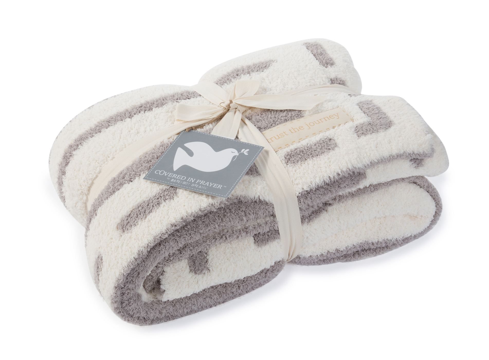 Barefoot Dreams Cozychic Covered In Prayers Throw Size 54 X 72 Mariposahill