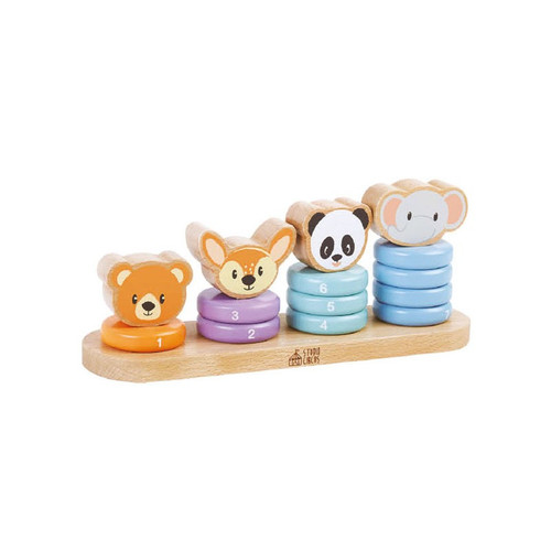 Animal Number Stacker toy