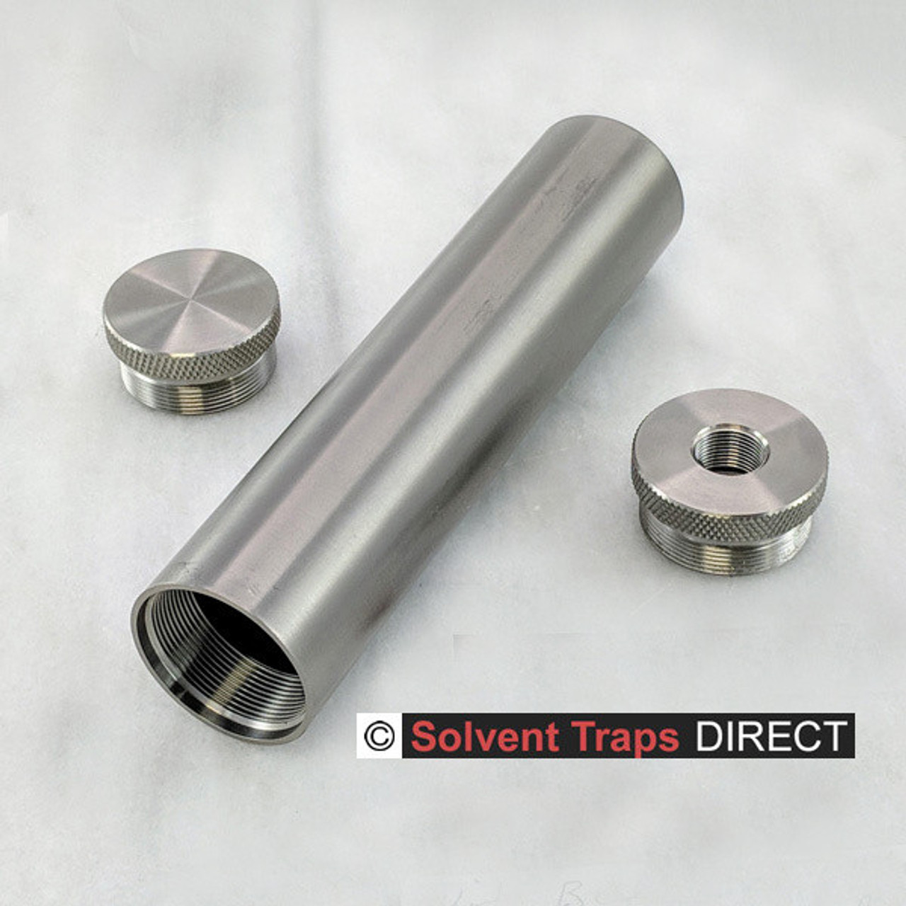B-Cell Titanium Solvent Trap Kit 6 inch 1-2 X 28