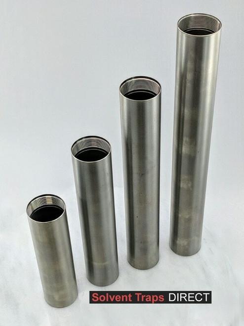 Titanium, D Cell, Solvent Trap, Tubes, Ti