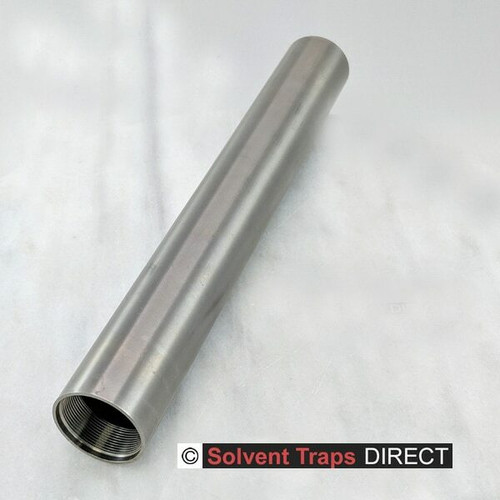 "B Cell, Titanium, Solvent Trap, 10 inch Tube, 9.6"", Ti"