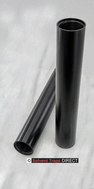 """C Cell, Aluminum, Al, Solvent Trap, Tube, 7.6"""" ST_C-Cell_8in_Tube_Al_AN"""