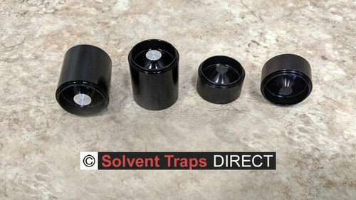 Solvent Trap D-Cell Anodized Aluminum Dry Storage Cups  ST_D-Cell_Cup_AL_AN_All