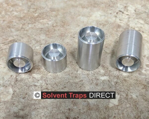 Solvent Trap - C-Cell Aluminum Unfinished Dry Storage Cups   ST_C-Cell_DSC_Al_UF_All