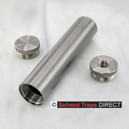 B-Cell Titanium Solvent Trap Kit 6 inch 1-2 x 28 ST_B-Cell_6in_Kit_EC_TP_1-2x28_Ti_UF
