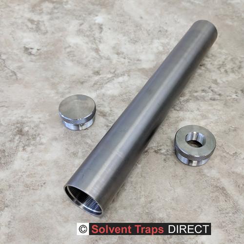 B-Cell Titanium Solvent Trap Kit 10 inch 5/8 x 24 ST_B-Cell_10in_Kit_EC_TP_5-8x24_Ti_UF