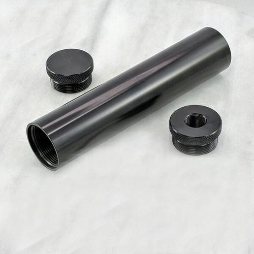 C-Cell Aluminum Solvent Trap Kit 6 inch 1-2X28 ST_C-Cell_6in_Kit_EC_TP_1-2x28_Al_AN-ga1