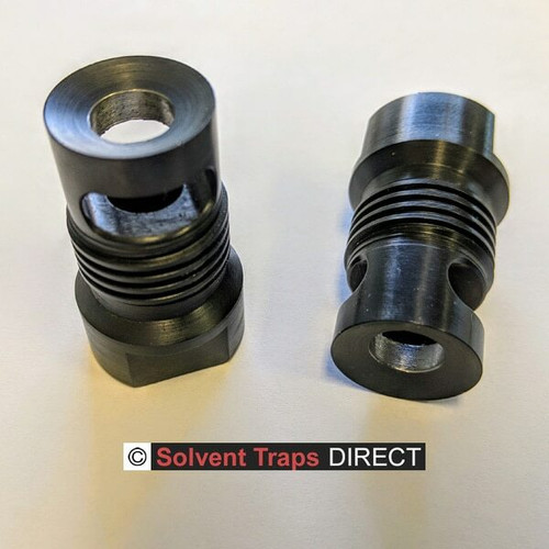 Shorty Muzzle Brake for Quick Attach Adapter bored to 9MM