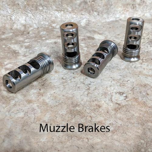 Titanium Muzzle Brakes and QAA Unfinished Improved 2019