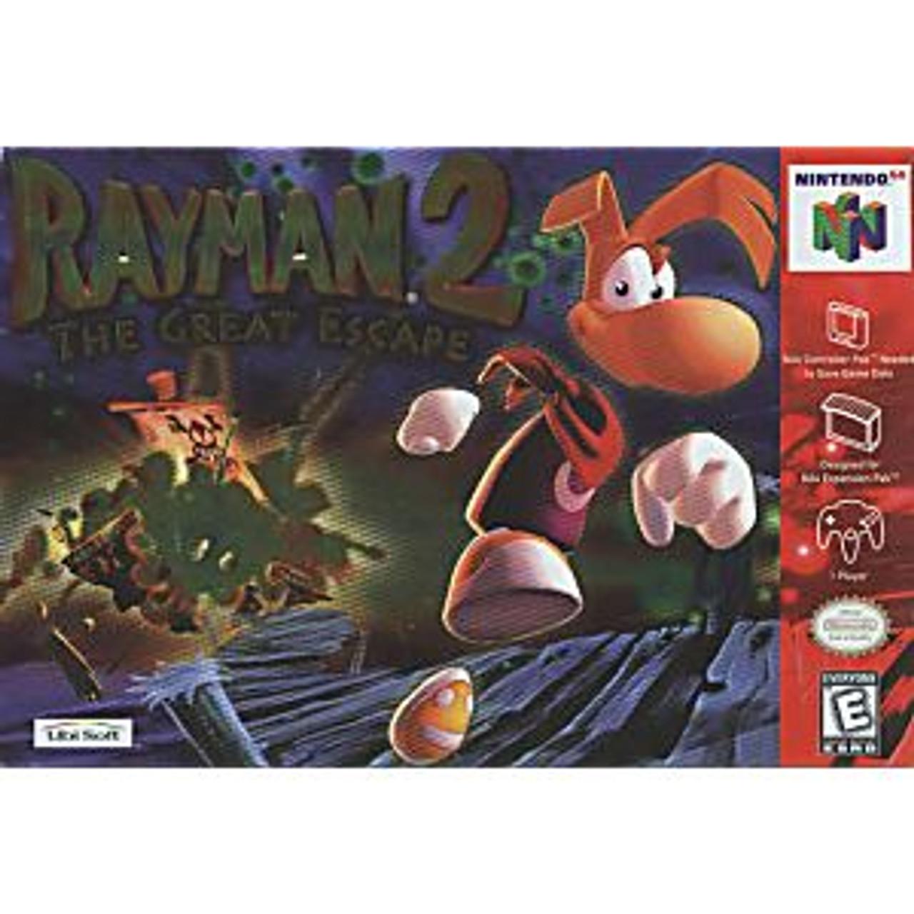 7. RAYMAN 2  - N64