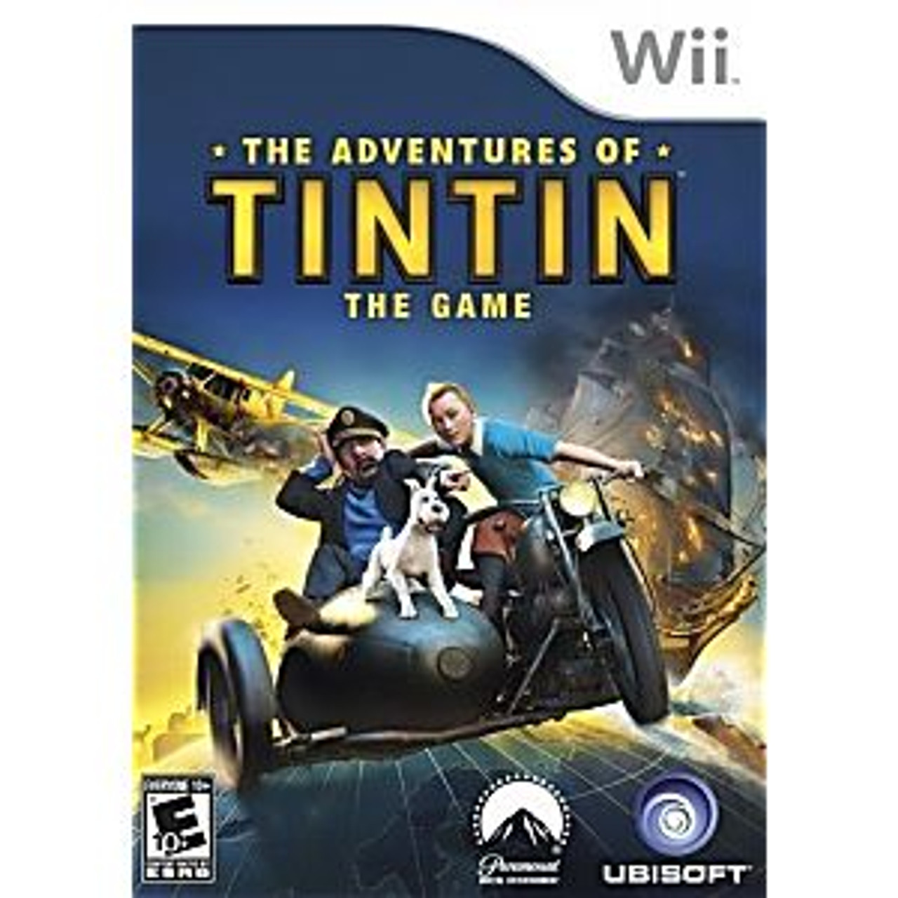 ADVENTURES OF TINTIN: THE GAME - WII