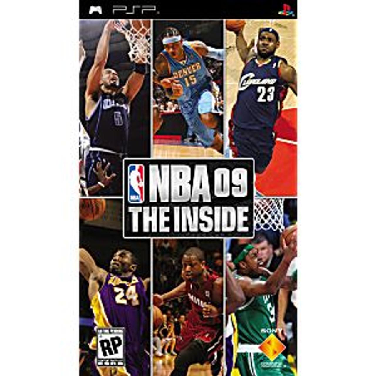 NBA 09 THE INSIDE - PSP