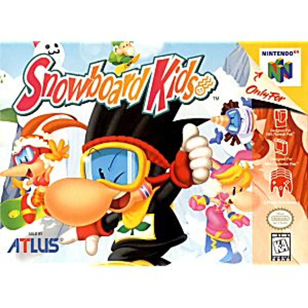 SNOWBOARD KIDS  - N64