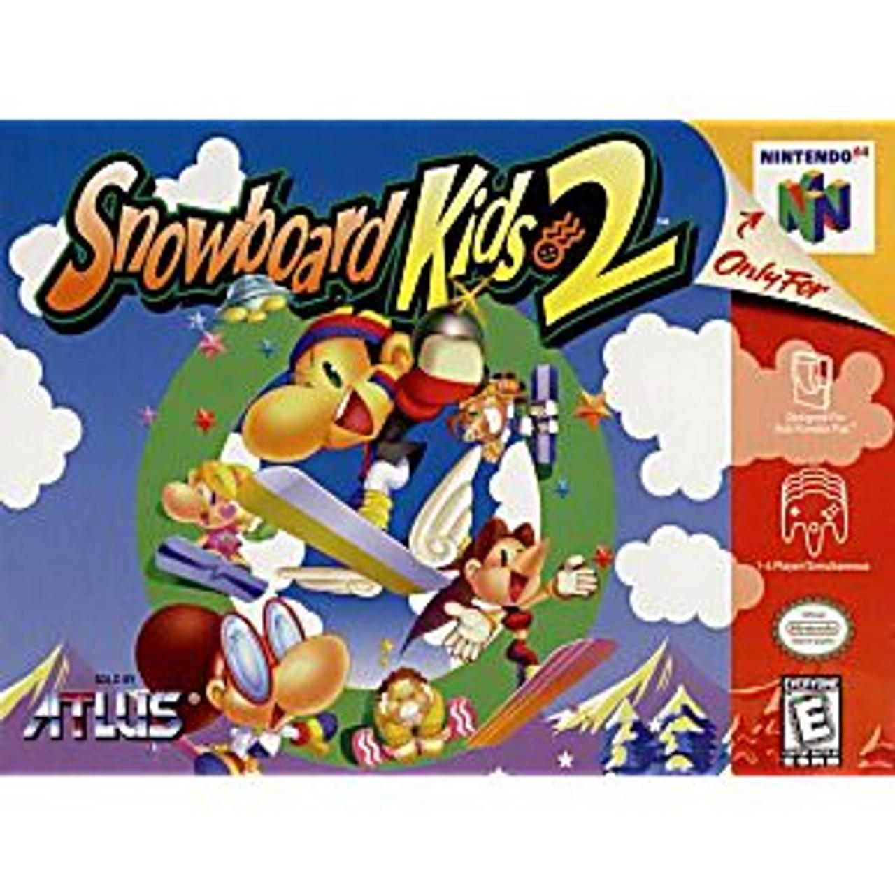 SNOWBOARD KIDS 2 - N64