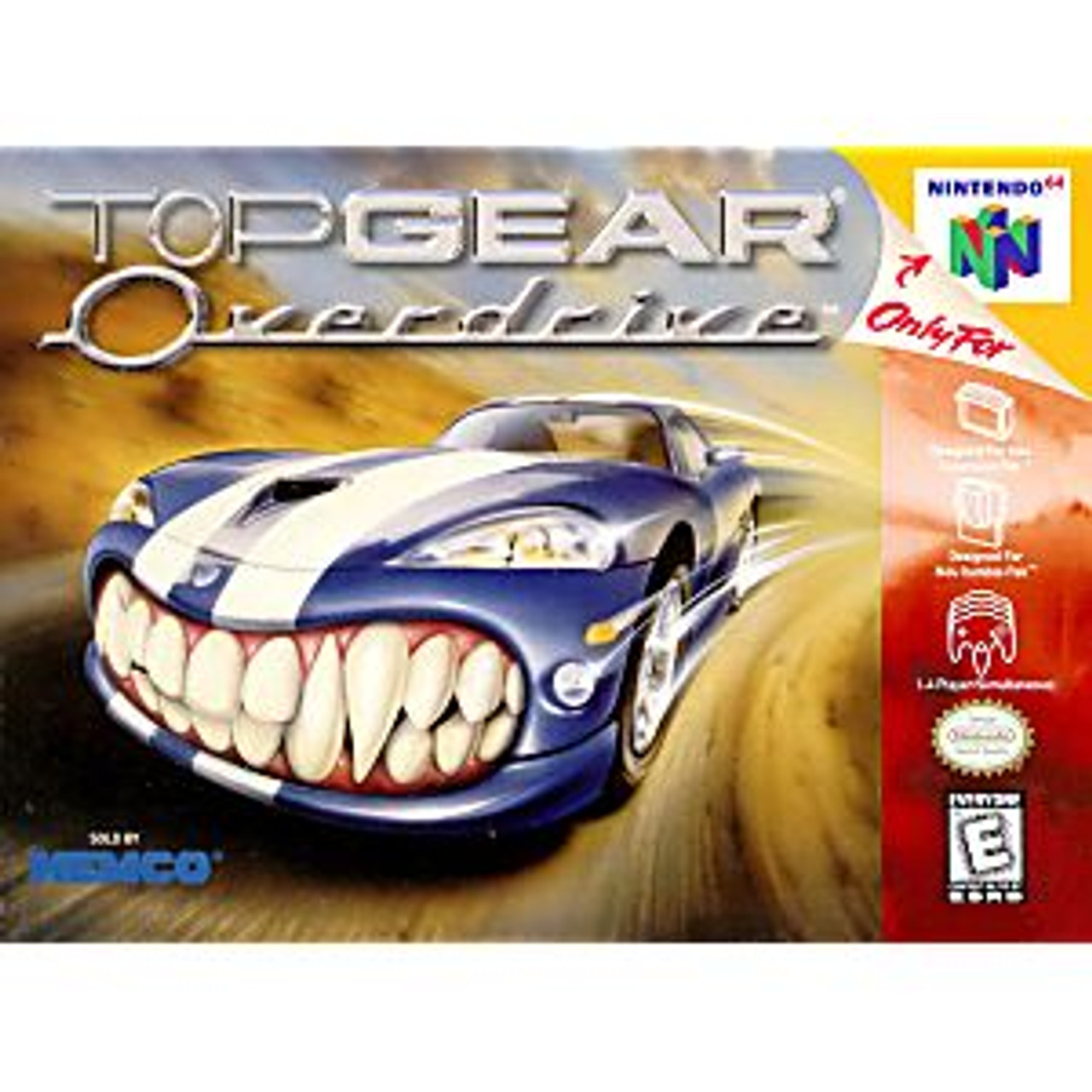TOP GEAR OVERDRIVE - N64