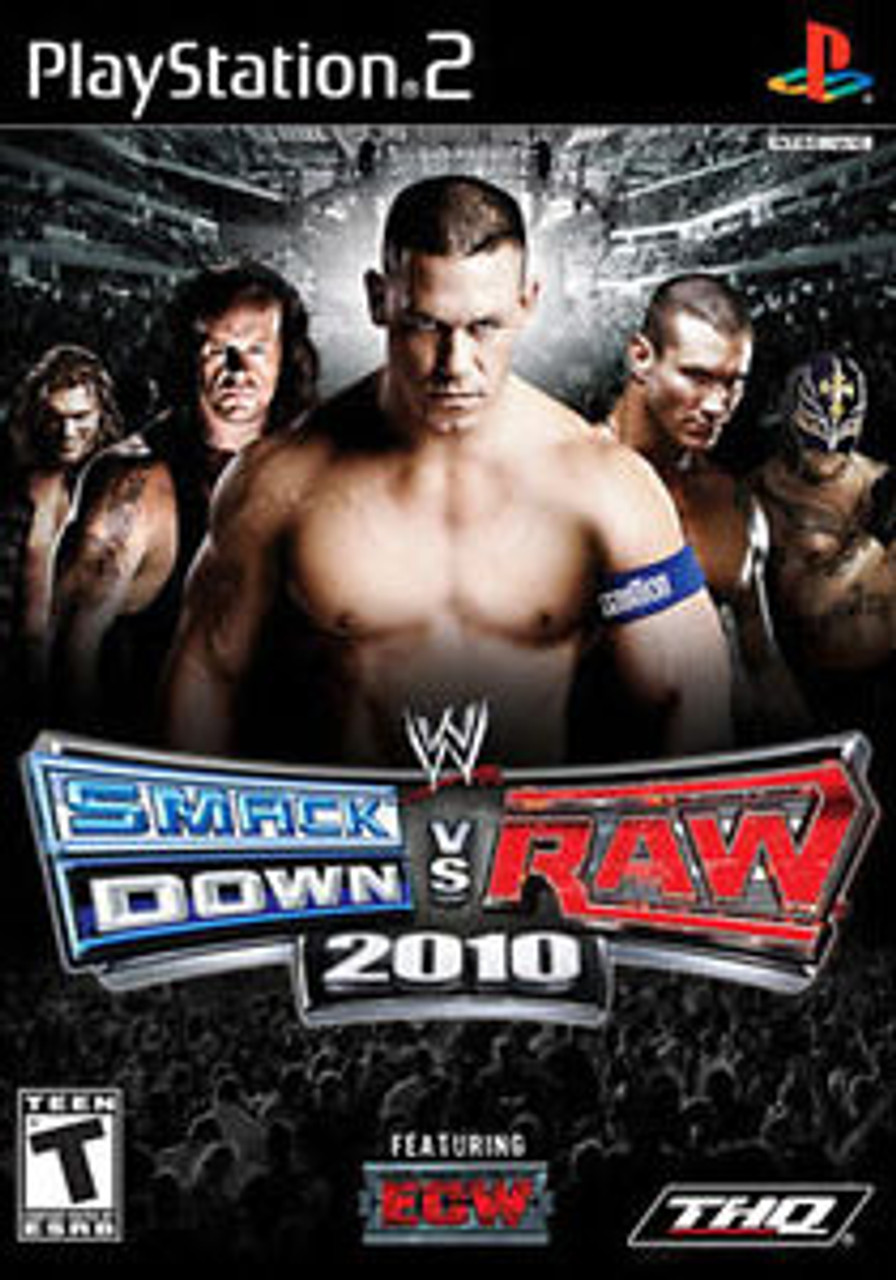 WWE SMACKDOWN VS RAW 2010 [T] - PS2