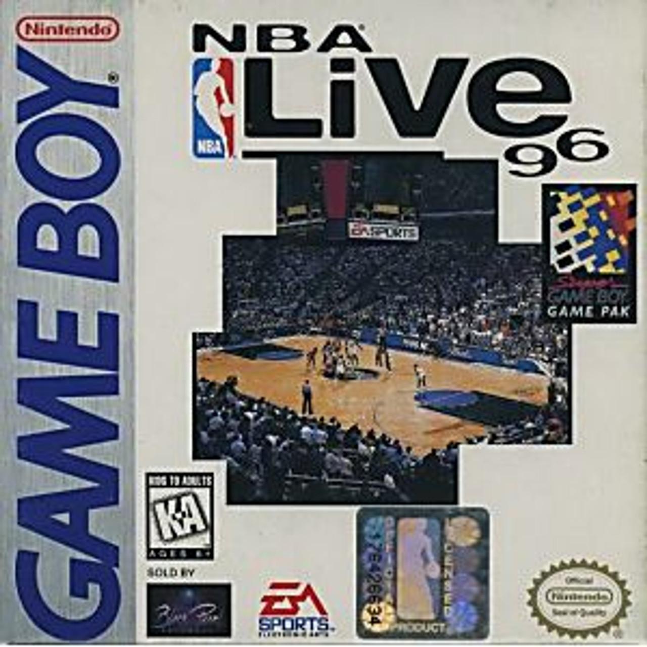 NBA LIVE 96 - GB