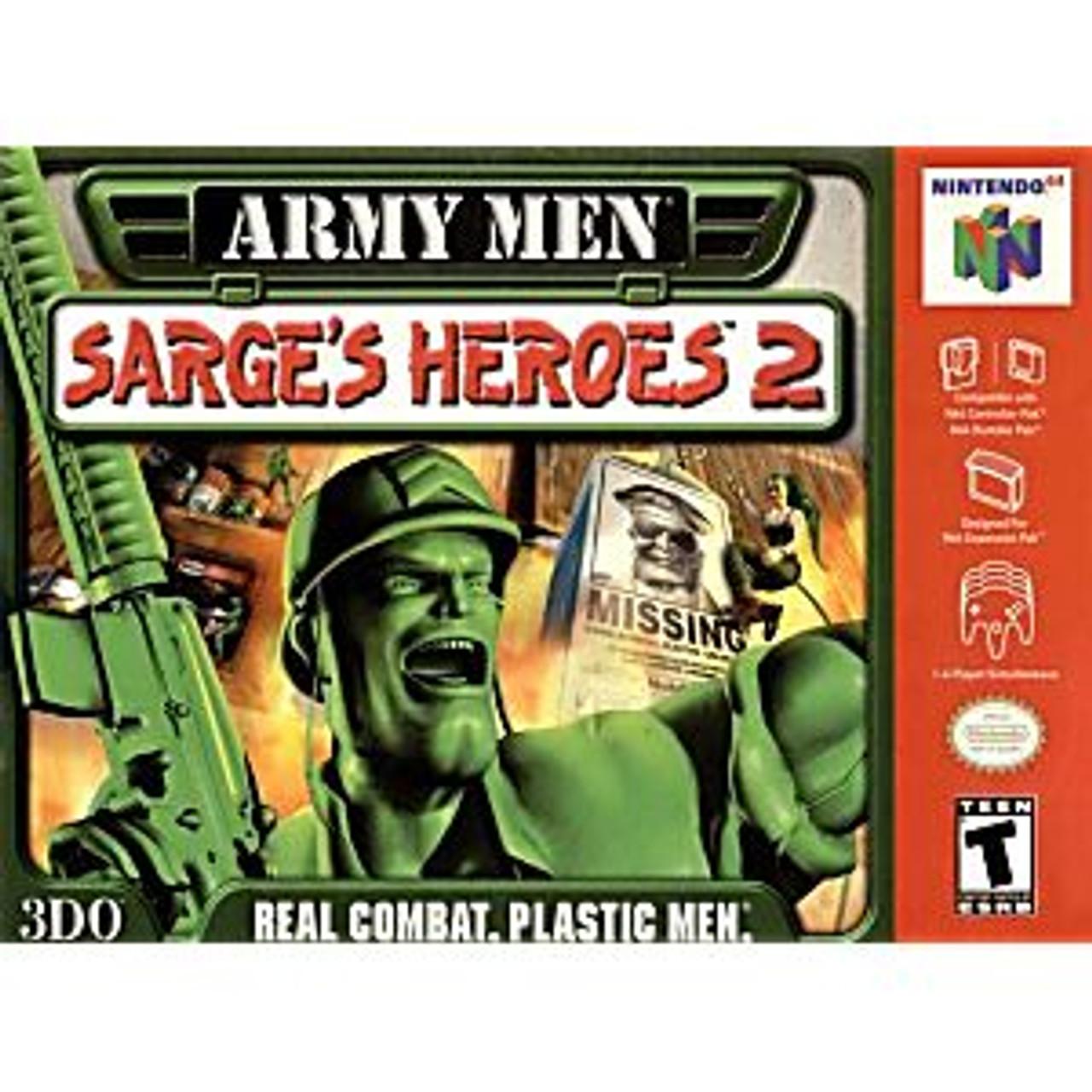 ARMY MEN SARGE'S HEROES 2 - N64