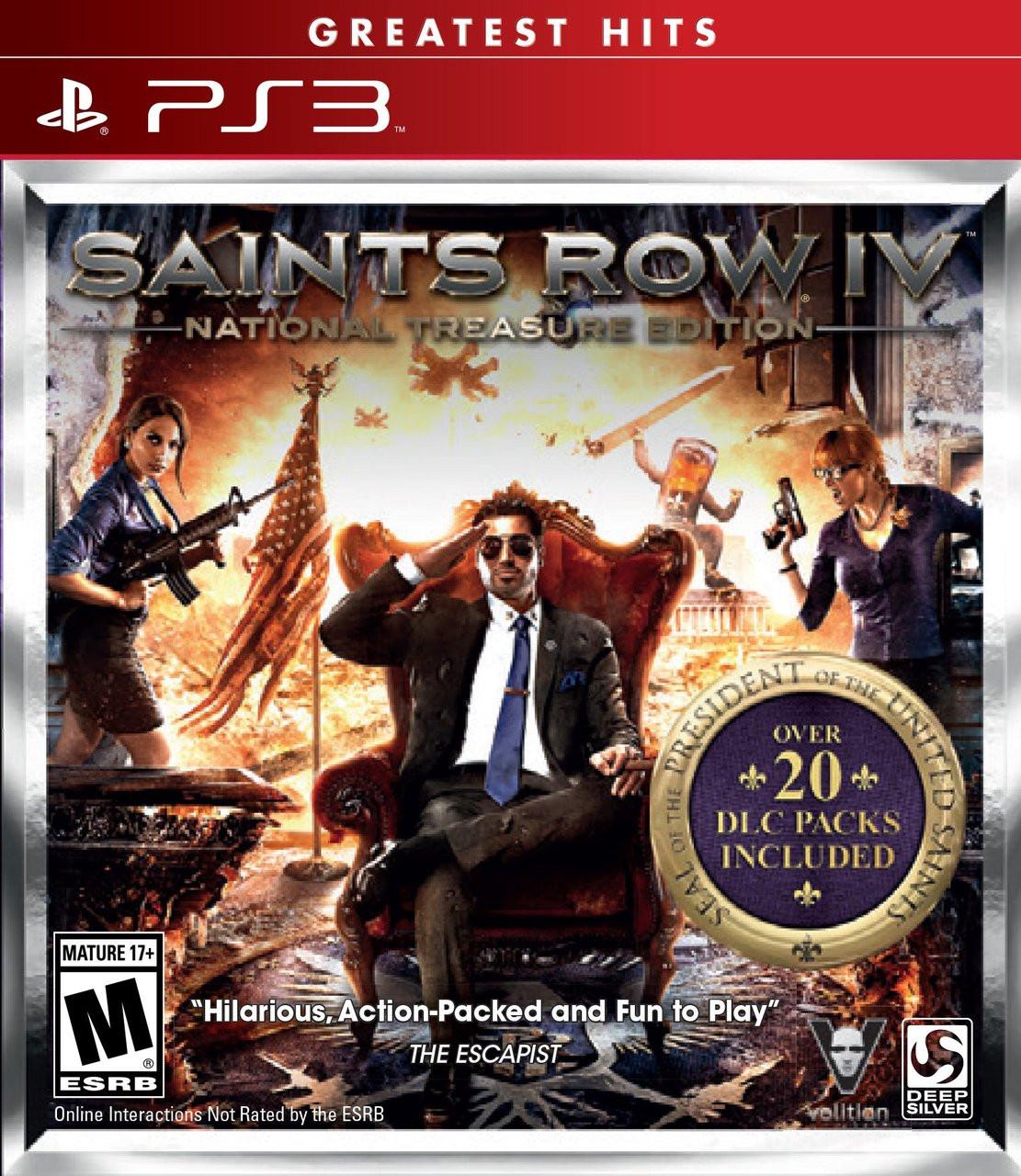 SAINTS ROW IV: NATIONAL TREASURE EDITION - PS3