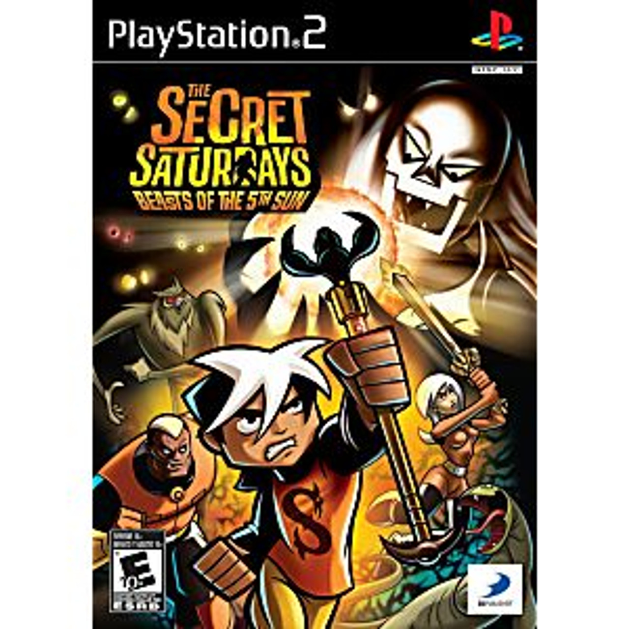 THE SECRET SATURDAYS: BEASTS OF THE 5TH SUN - PS2