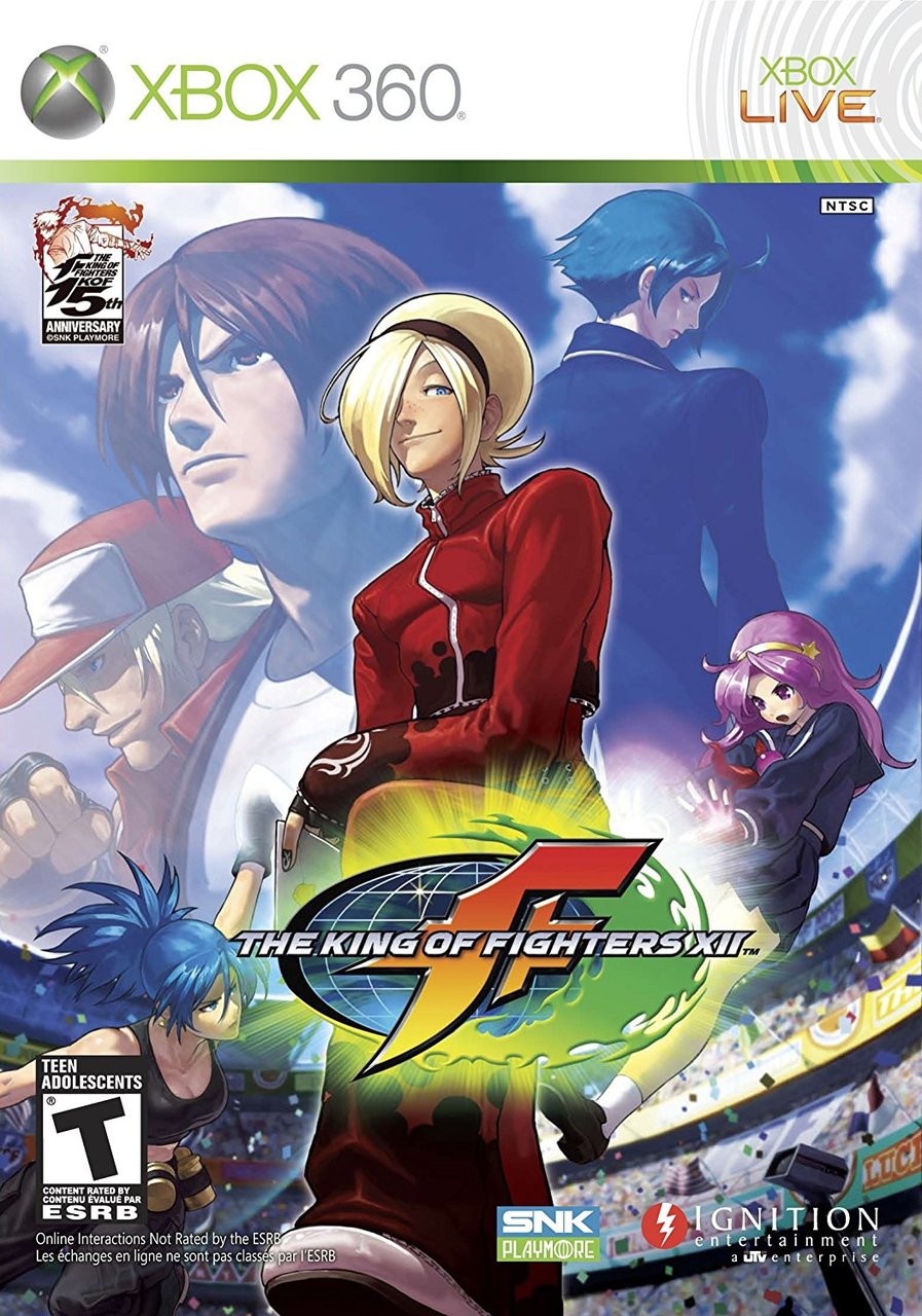 KING OF FIGHTERS XII  - XBOX 360