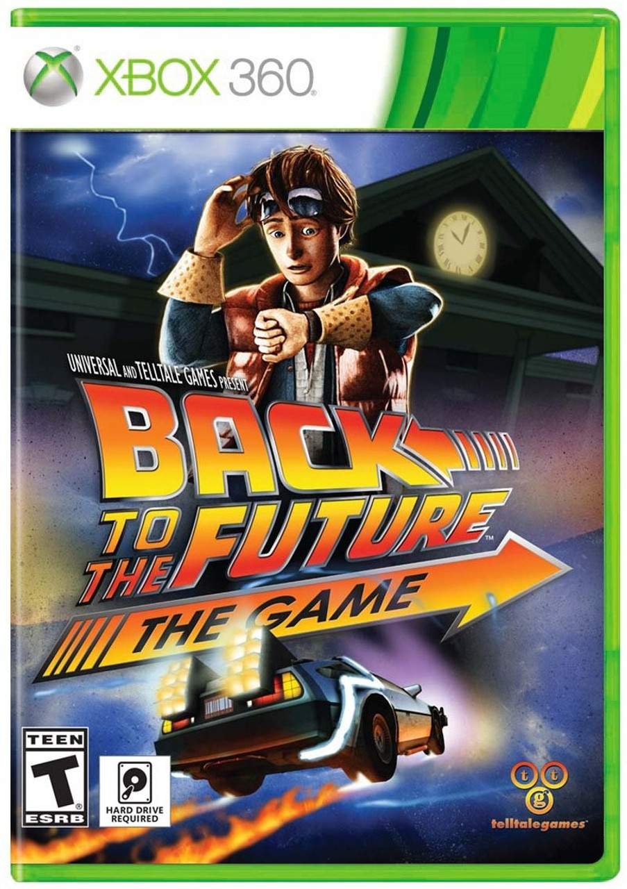BACK TO THE FUTURE - XBOX 360