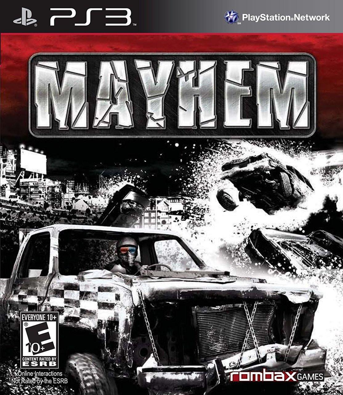 MAYHEM 3D  - PS3