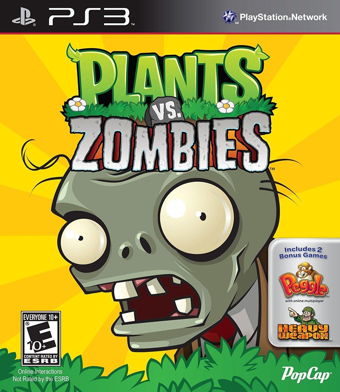 PLANTS VS. ZOMBIES  - PS3