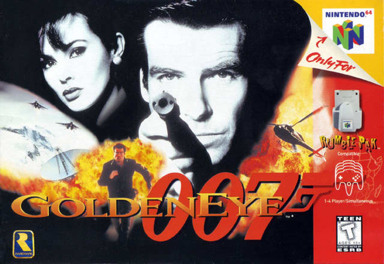 4. GOLDEN EYE 007 - N64