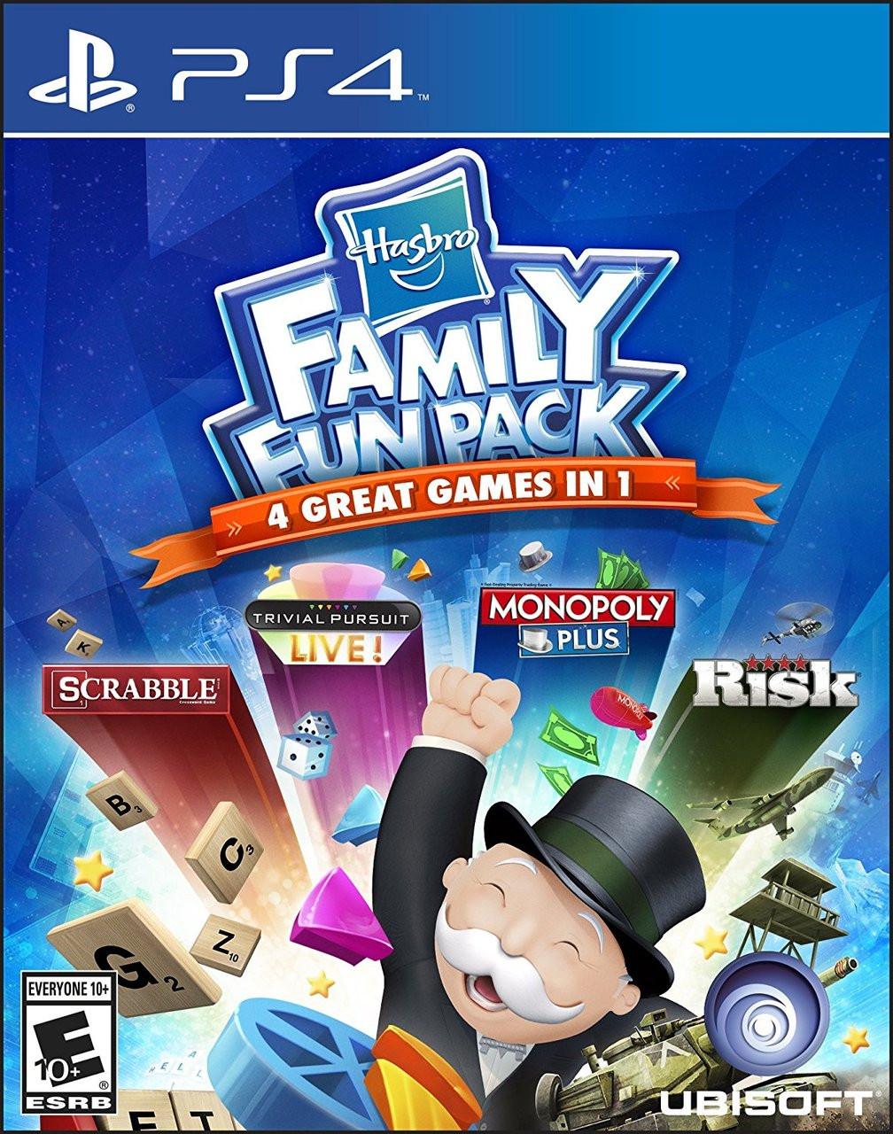 HASBORO FAMILY FUN PACK - PS4