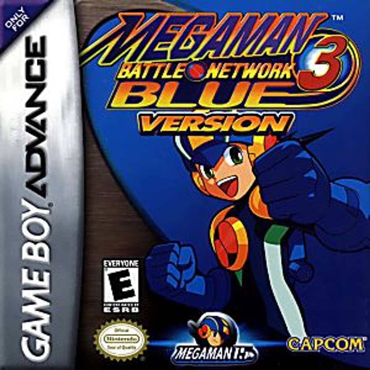 MEGAMAN BATTLE NETWK 3 BLUE [E]