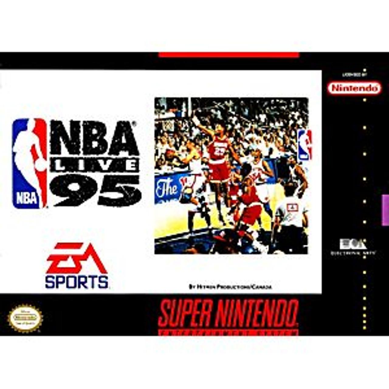 NBA LIVE 95  - SNES