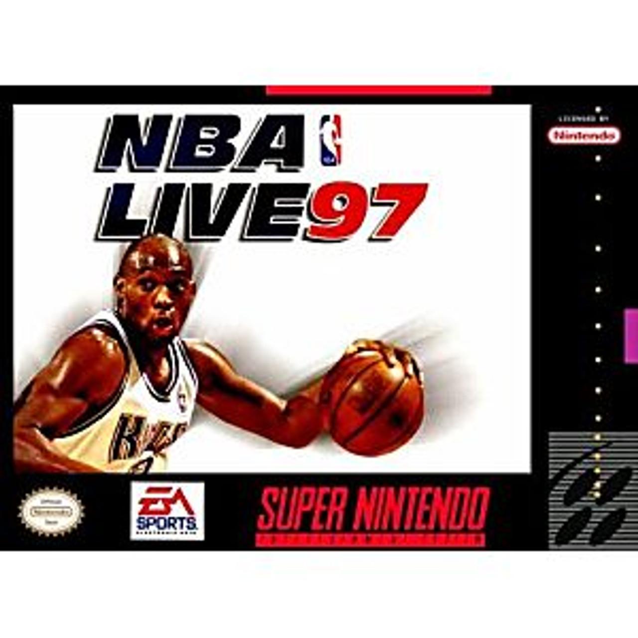 NBA LIVE 97  - SNES