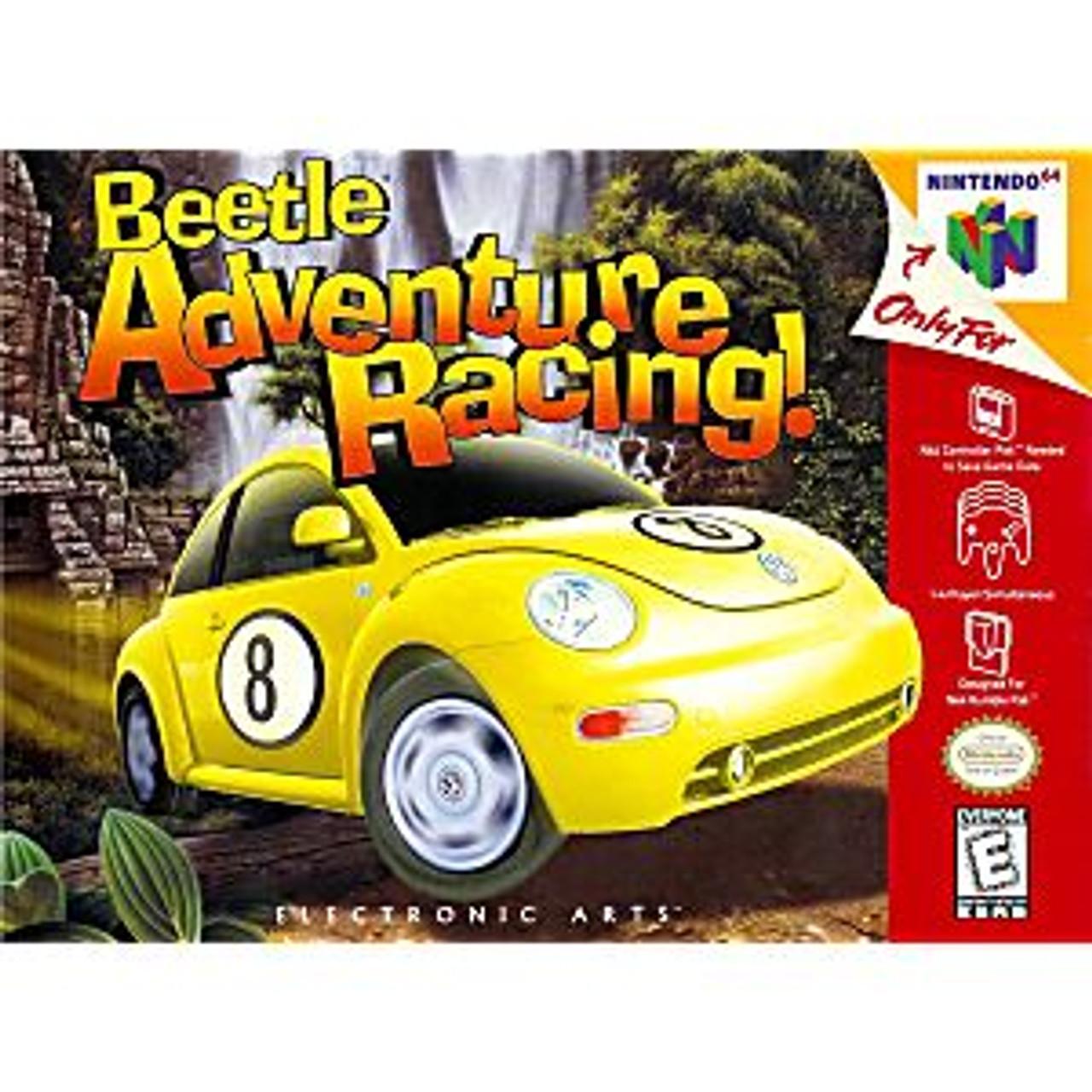 BEETLE ADVENTURE RACING - N64