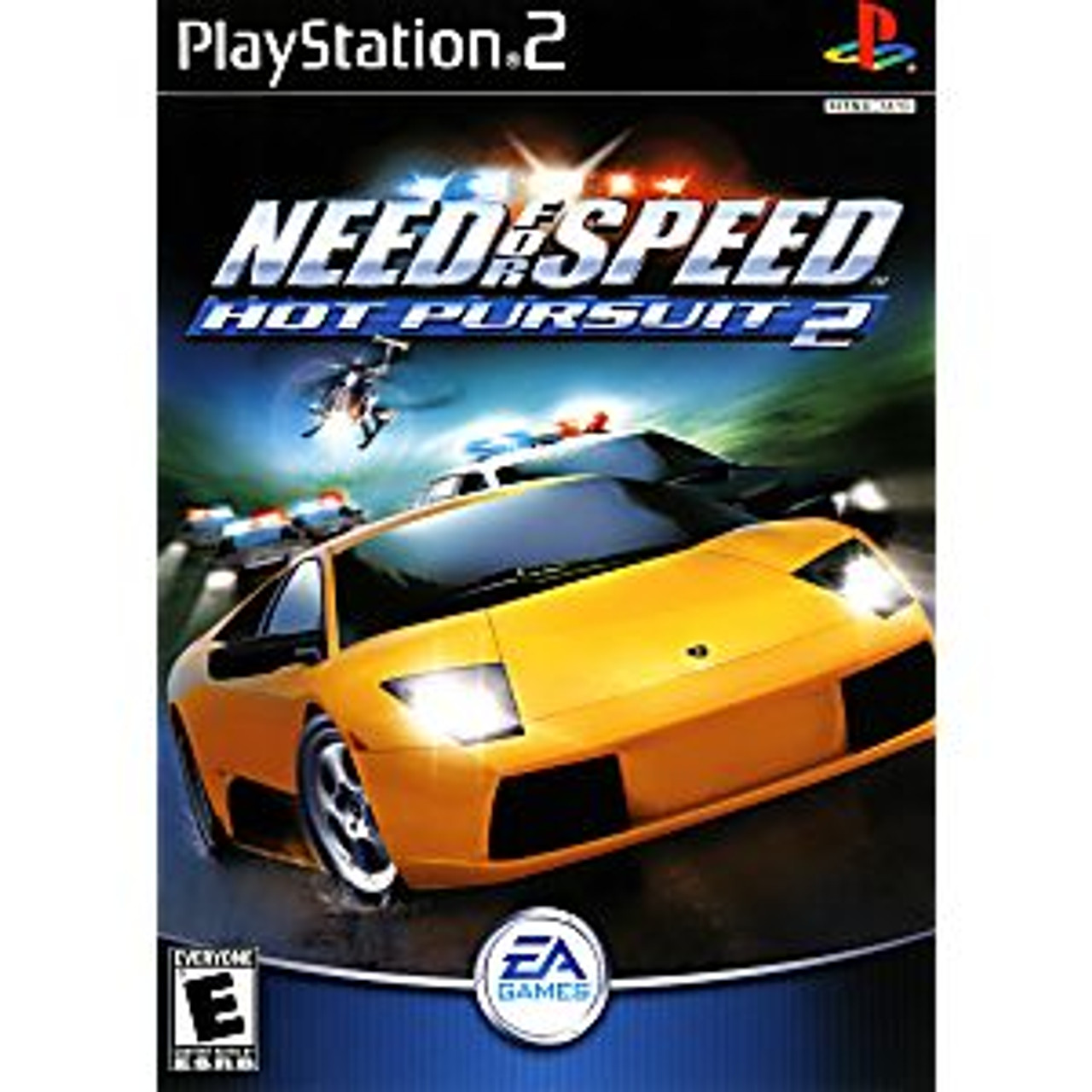 NEED FOR SPEED HOT PURSUIT 2 [E] - PS2