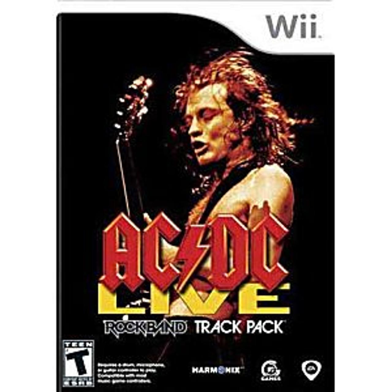 AC/DC LIVE ROCK BAND TRACK PACK (#014633191684)