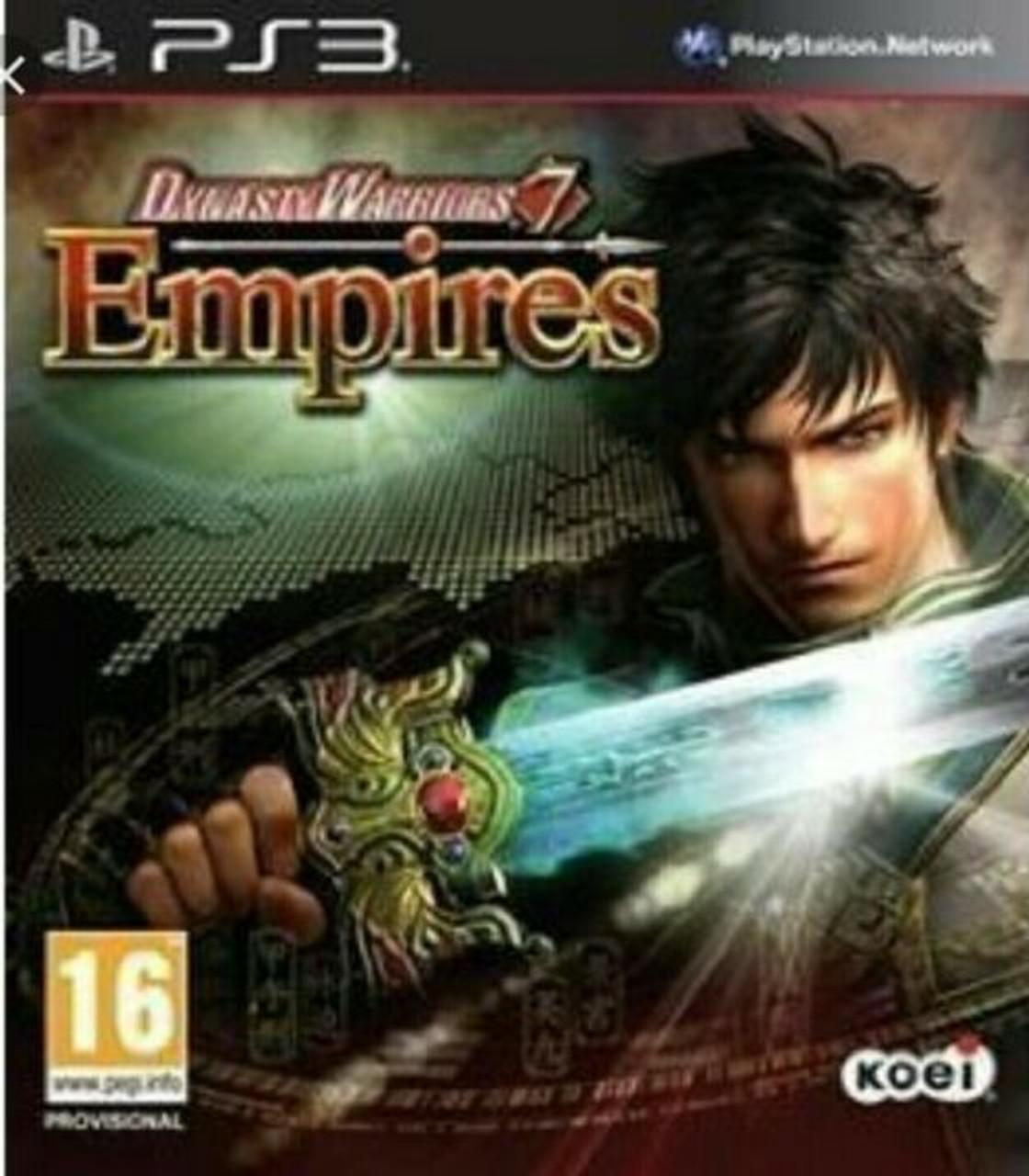 Dynasty Warriors 7 Empires *Import* - PS3