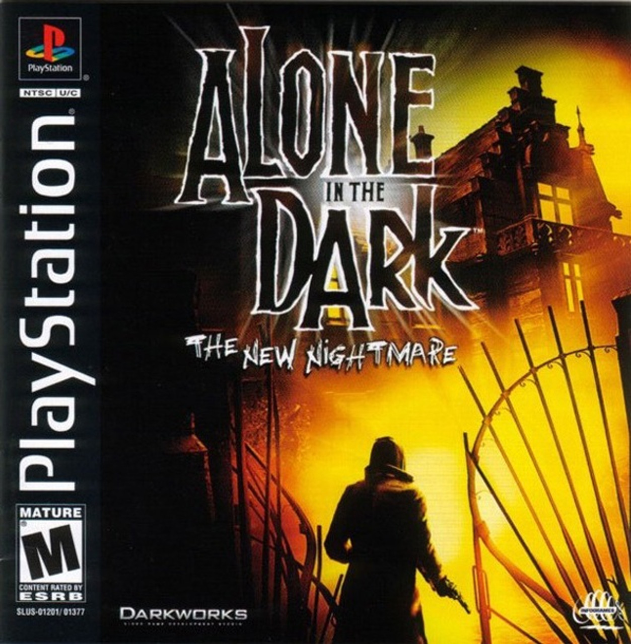 Alone In The Dark The New Nightmare Psx Monstergames