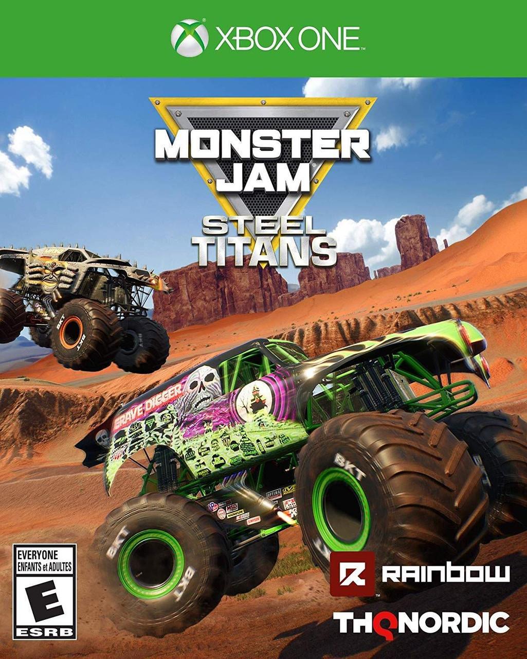 Monster Jam Steel Titans -  Xbox One