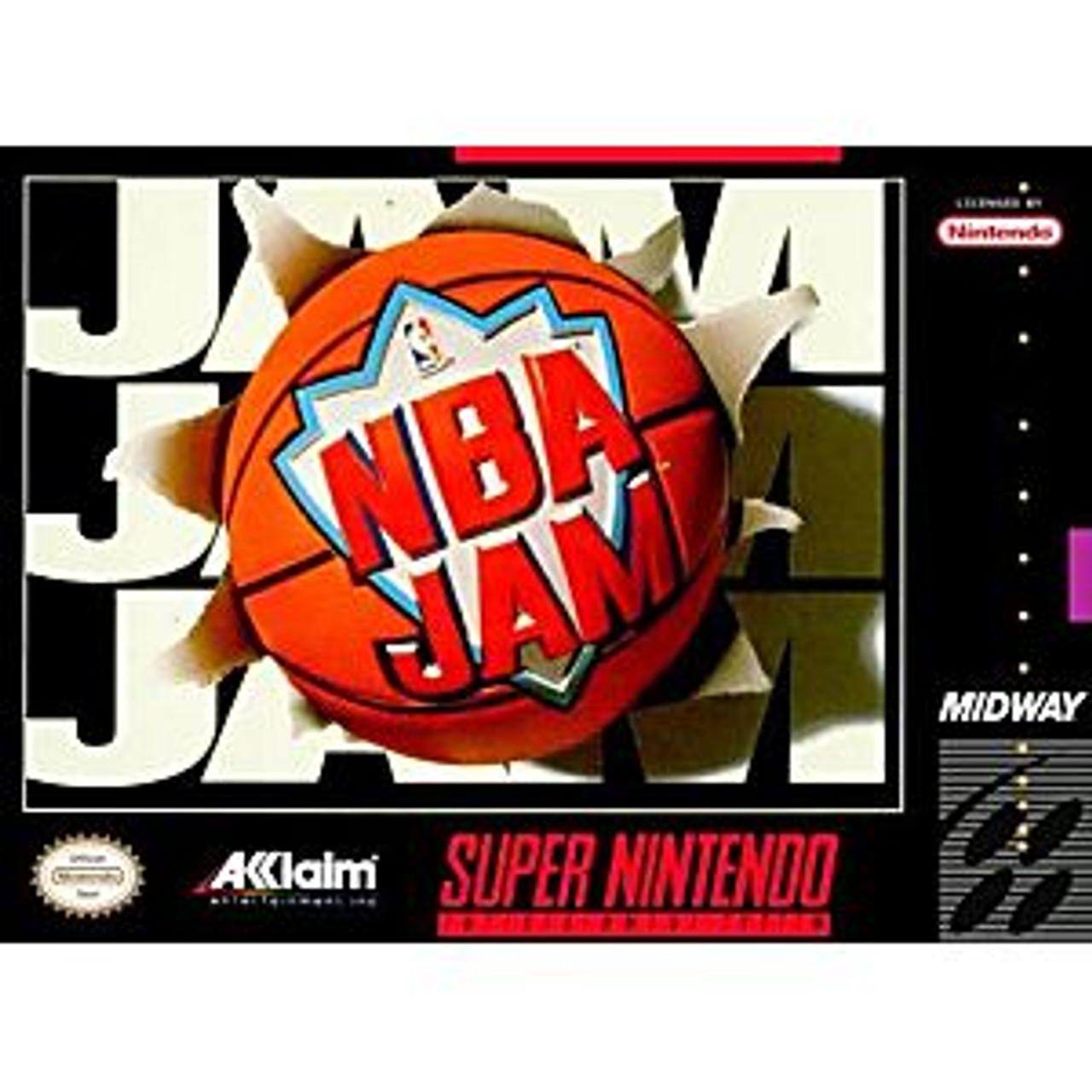 NBA JAM  - SNES