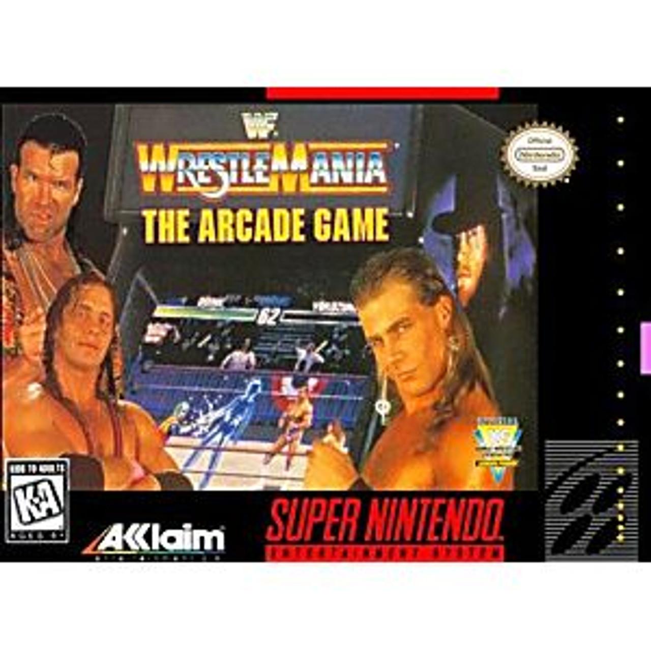 Wwf Arcade Game Snes Monstergames