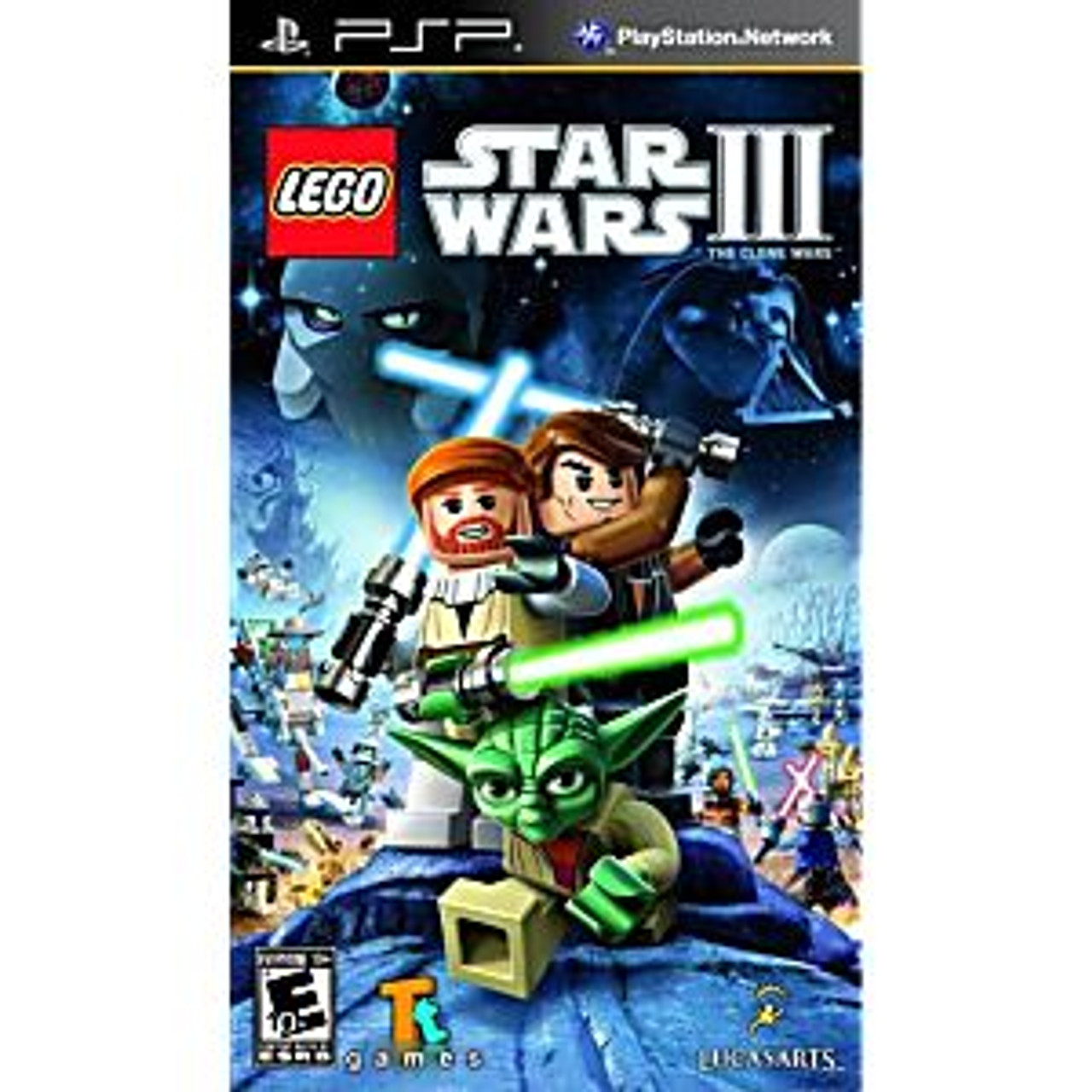 LEGO STAR WARS 3 THE CLONE WARS [E10] - PSP