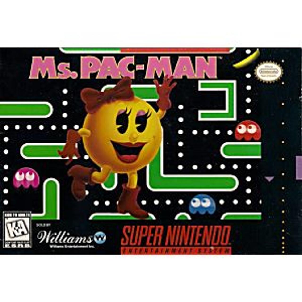 MS PAC MAN - SNES