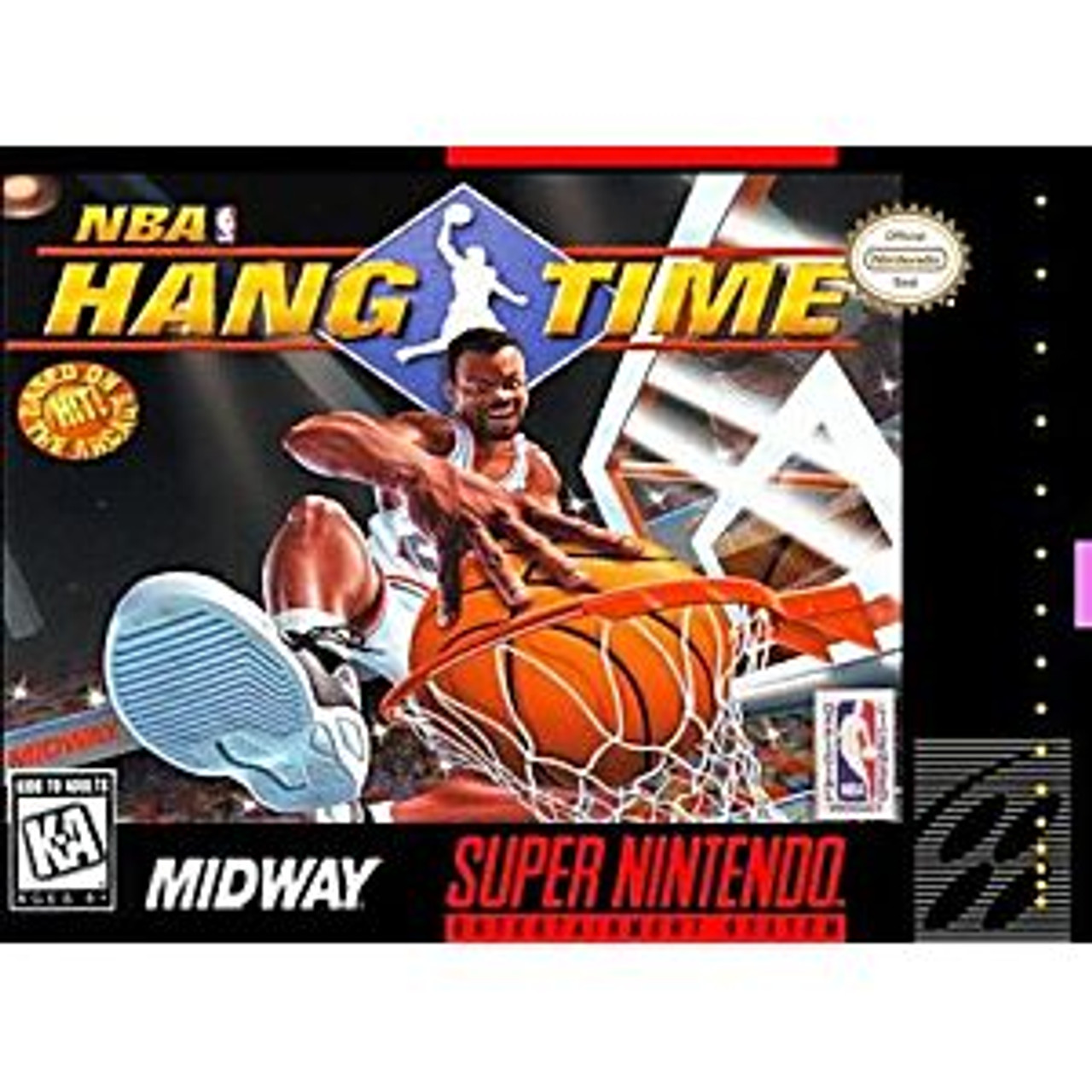 NBA HANG TIME  - SNES